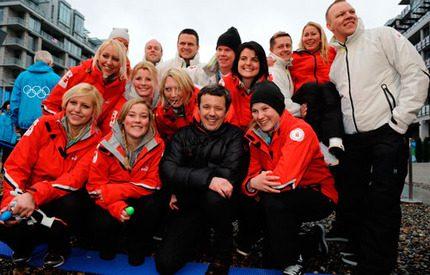 Kronprins Frederik ska hjälpa danska OS-laget till medaljer