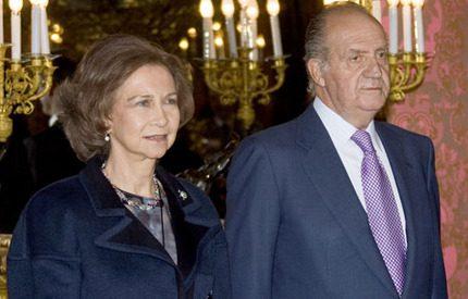 Kung Juan Carlos vill ha enad front mot krisen i Spanien