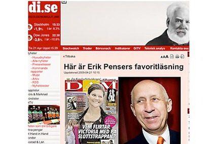 Svensk Damtidning Erik Pensers favorit!