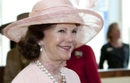 Drottning Silvia stal showen