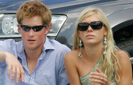 Prins Harry och Chelsy på romantisk dejt