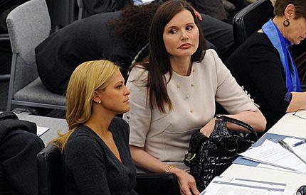 Prinsessan Madeleine, Geena Davis och Fergie <br>– vilket möte i New York!