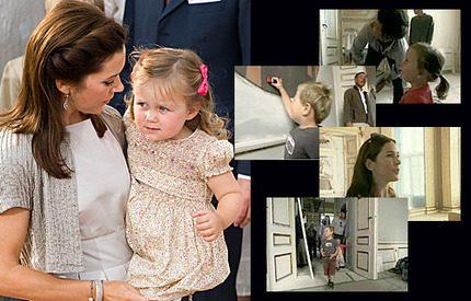 Webb-tv! Marys och Frederiks Isabella gläds åt sitt nya hem
