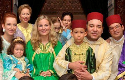 Prinsessan Lalla Khadija av Marocko har fyllt tre år
