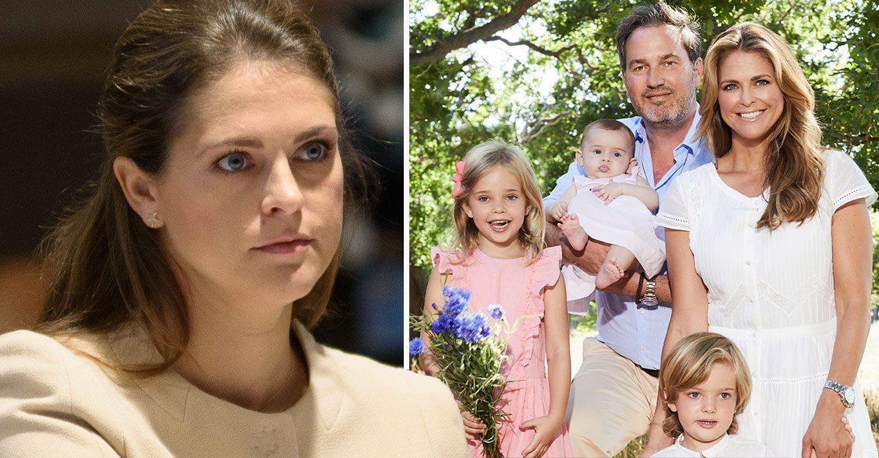 Nya orosmolnet över prinsessan Madeleines Floridaliv