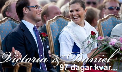 97 dagar kvar: Kronprinsessan Victorias bröllop närmar sig...