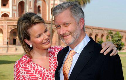 Philippe och Mathildes heta Indienresa med tid för kärlek