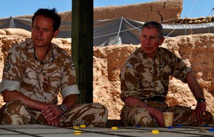 Webb-tv: Prins Charles på blixtvisit i Afghanistan