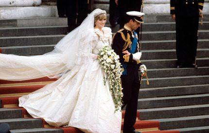 Webb-tv: Prinsessan Diana och prins Charles bröllop