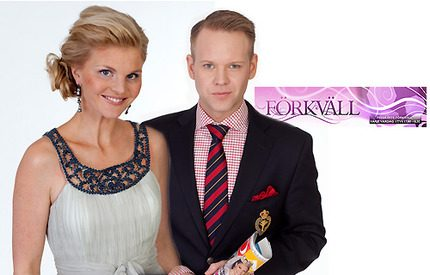 Webb-tv! Lotta och Daniel om prinsessornas vackraste brudklänningar