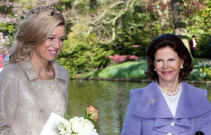 Drottning Silvia och Máxima fann varandra direkt!