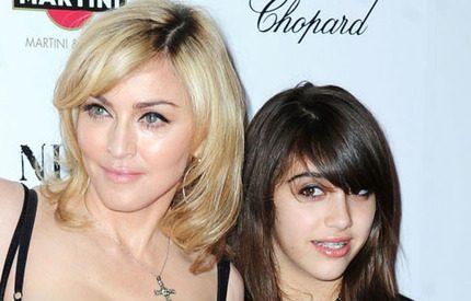Madonna önskar dottern klädde sig mer konservativt