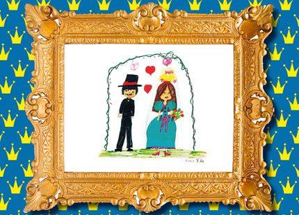Barnens syn på Victorias bröllop visas upp i ny bok