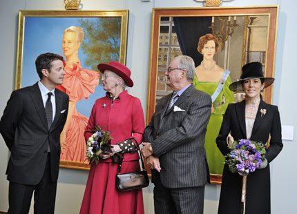 Bildspel: Drottning Margrethe invigde utställning om sitt liv