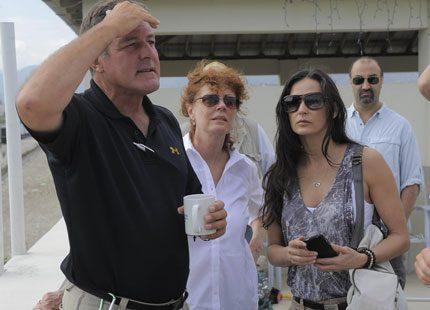Hollywoodstjärnorna har inte glömt Haitis offer