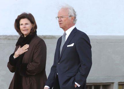 Nu har kungen och drottningen kommit till Köpenhamn