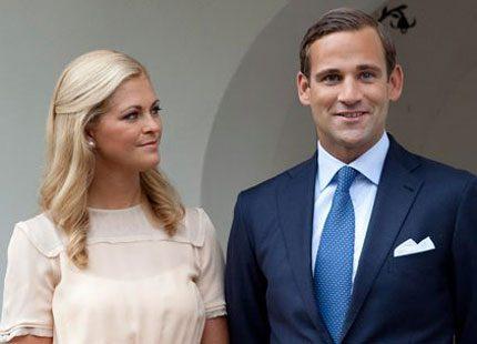 Madeleine och Jonas Bergström lyckliga igen