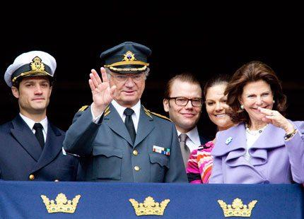 Kunglig milstople för Daniel Westling