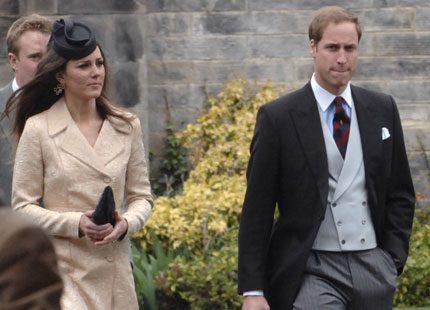 Prins William gick på bröllop med Kate