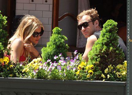 Sienna Miller och Jude Law tillsammans igen
