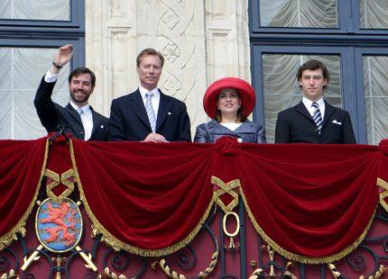 Storhertigparet firade katolsk helgdag