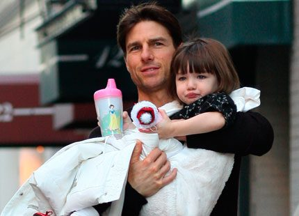 Tom Cruise skryter om dottern Suri