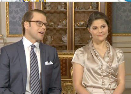 Webb-tv: Kronprinsessan Victoria om Daniels enorma energi