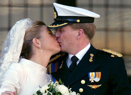 Webb-tv: Máximas och Willem-Alexanders bröllopslycka