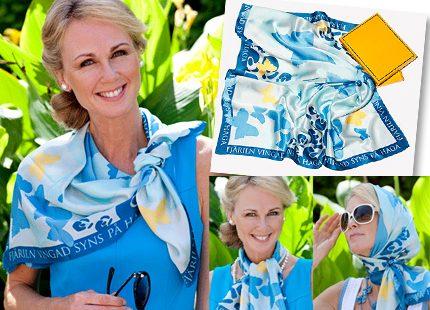 Från webbshopen: Specialdesignad sjal i samband med kronprinsessbröllopet