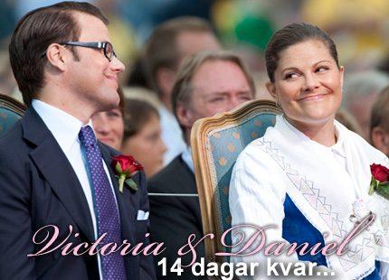 Kronprinsessbröllopet närmar sig