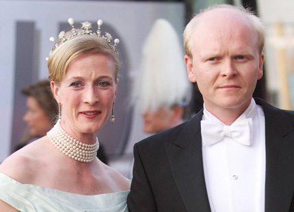 Höggravida prinsessan Nathalie har gift sig