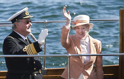 Ett vårtecken: Drottning Margrethes premiärtur