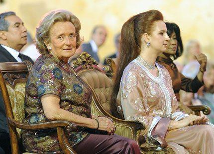 Prinsessan Lalla Salma drog igång musikfestival