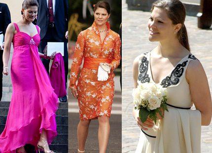 Kronprinsessan Victorias stora bröllopsgarderob