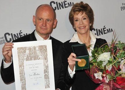 Jane Fondas hektiska veckor i Frankrike