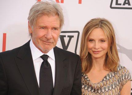 Ingen bröllopsresa för Harrison Ford och Calista Flockhart