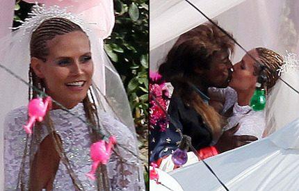 Heidi Klum och Seal slog till med ett andra bröllop