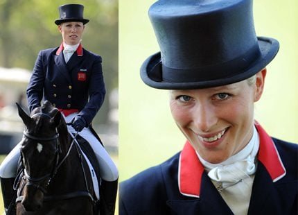 Zara Phillips siktar på OS i London 2012