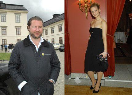 Gustaf Magnuson har en ny kärlek i supermodellen Vicky Andrén
