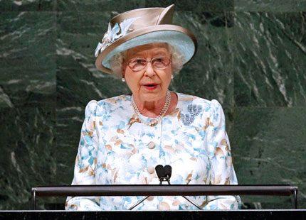 Webb-tv: Drottning Elizabeth talade i FN