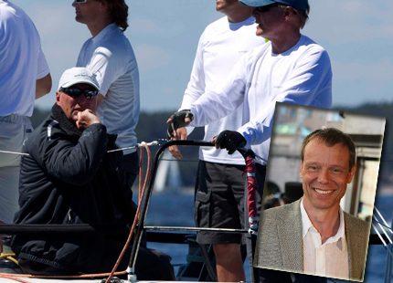 Kung Harald och Fuglesang i Gotland Runt