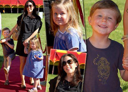 Lille prins Christian <br> – en riktig spexare