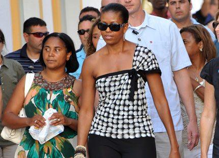 Michelle Obama semestrar i Marbella