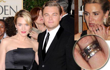Kate bär Leos guldring på ringfingret ...