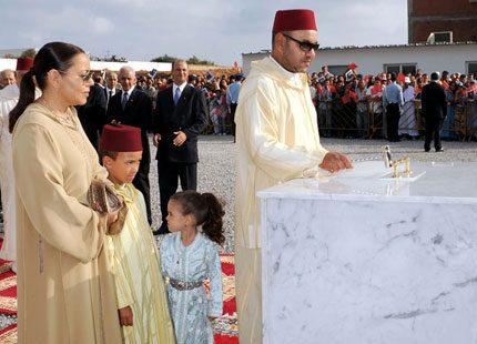 Marockos Kung Mohammed bygger hem för döva barn