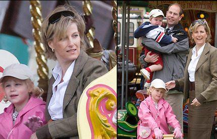 Prins Edward och Sophie visade upp sin lilla familj