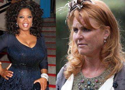 Oprah hjälper Ferige ur hennes ekonomiska kris