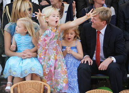 Härliga bilder på holländska kronprinsfamiljen