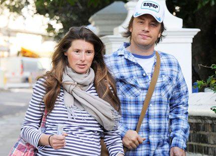 Jamie Oliver har fått sin första son