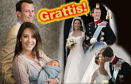 Första bröllopsdagen för Marie och Joachim!